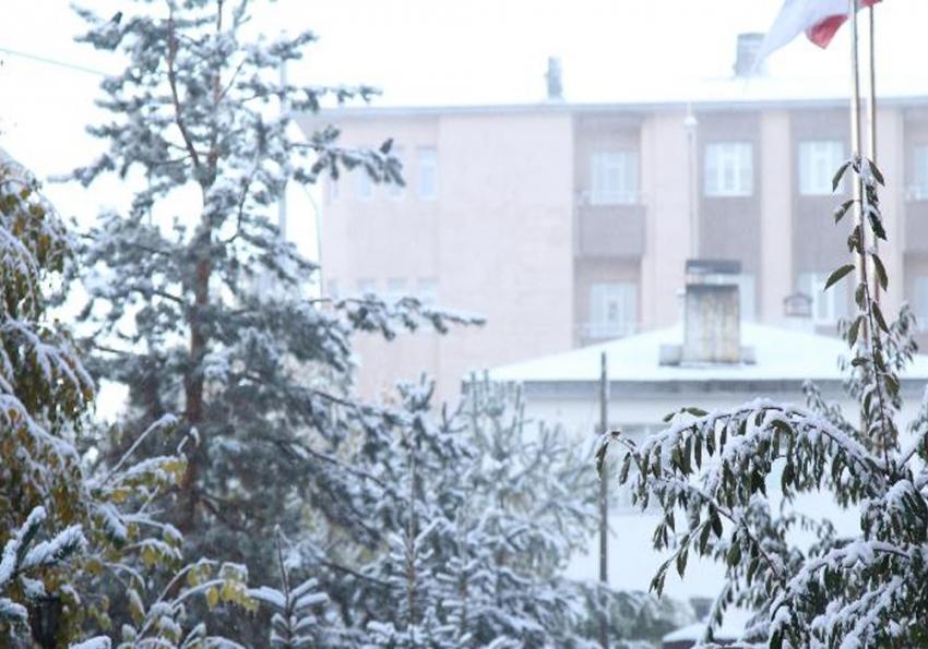 Ardahan'da kar esareti başladı