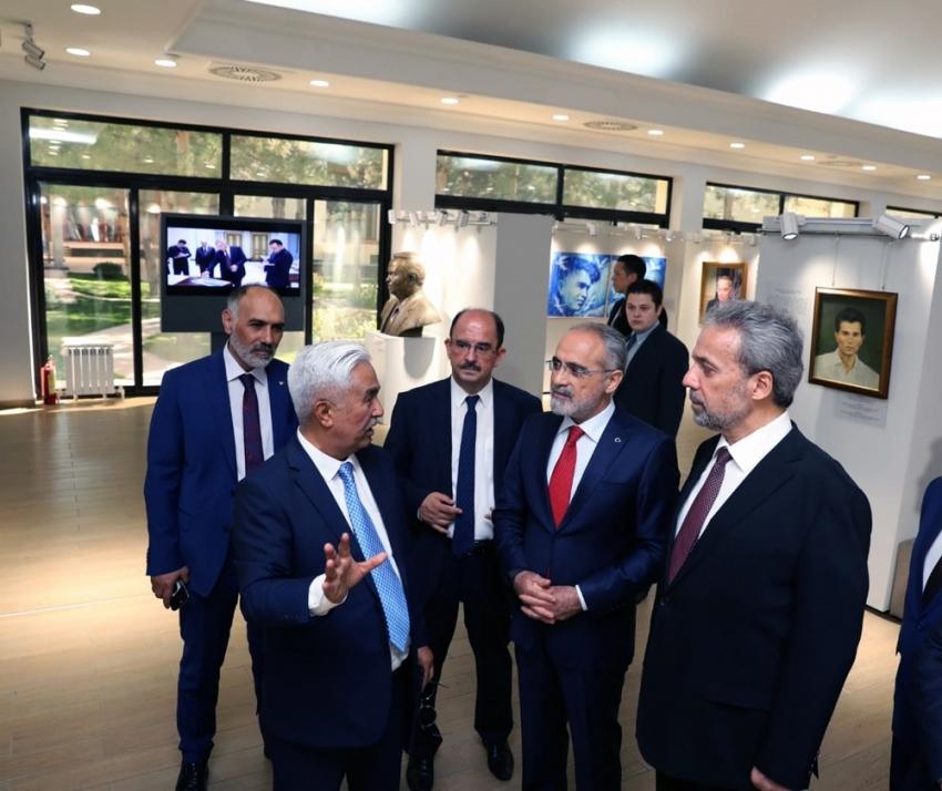 Cumhurbaşkanı Başdanışmanı Yalçın Topçu, Özbeksitan'da