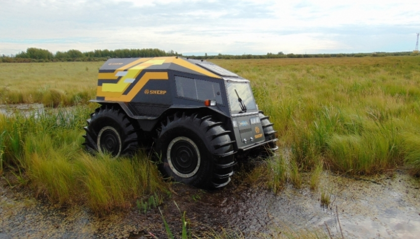 İşte Rusların 100 bin dolarlık arazi aracı