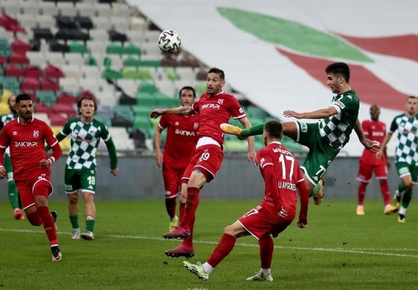 Bursaspor Balıkesirspor maçı fotoğrafları
