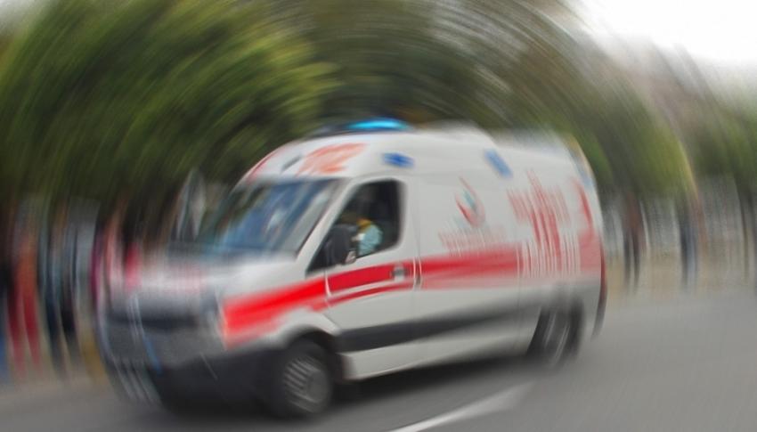 Öğretmenleri taşıyan servis devrildi: 16 yaralı