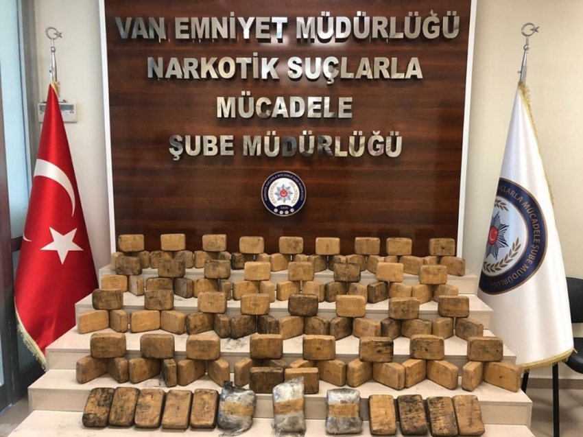 Van'da dev uyuşturucu operasyonu