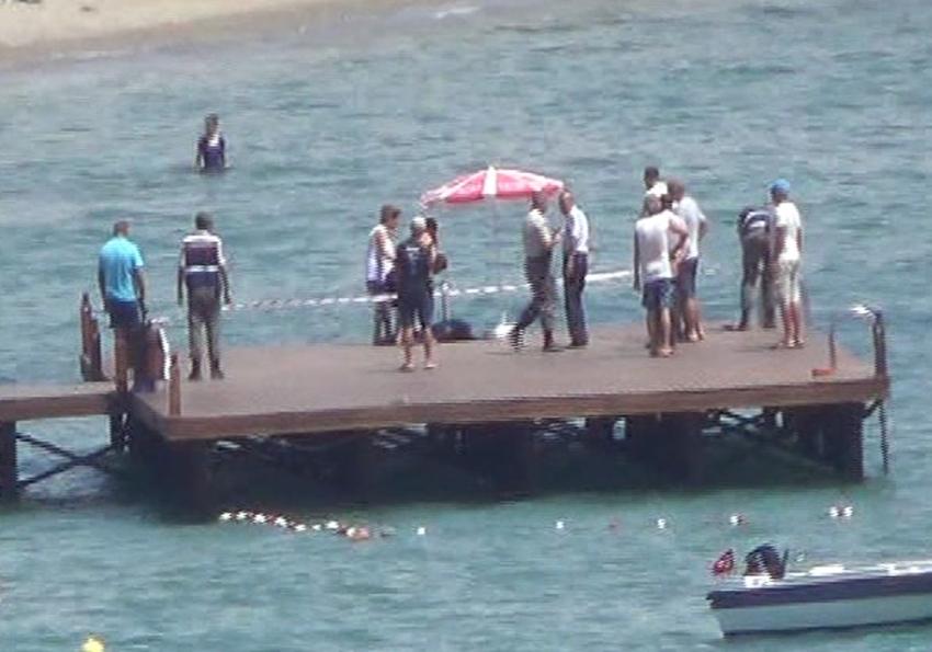 Serinlemek için denize giren genç kadın hayatını kaybetti