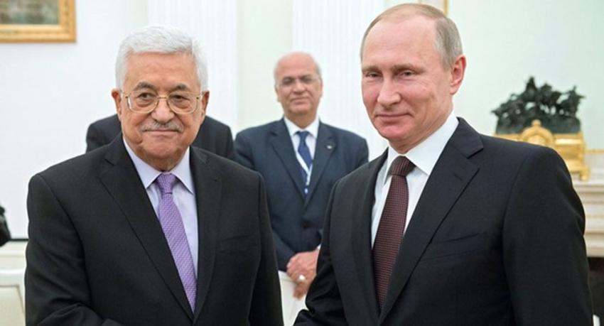 Putin ve Abbas Moskova'da bir araya gelecek