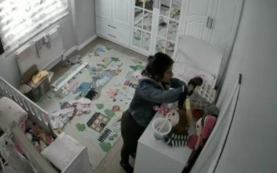 Eve giren hırsızlar bu şekilde görüntülendi