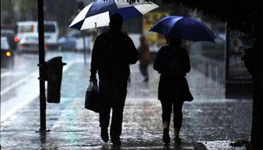 Meteoroloji'den uyarı! Sağanak yağışa dikkat