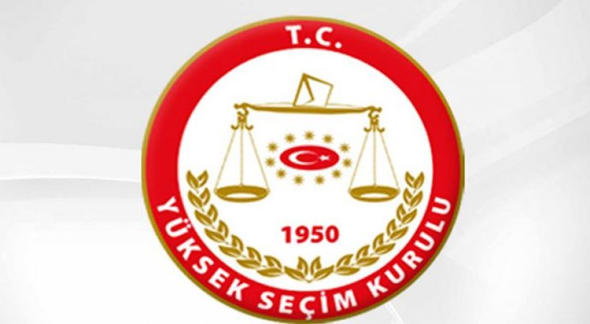 YSK'dan siyasi partiler için kritik açıklama