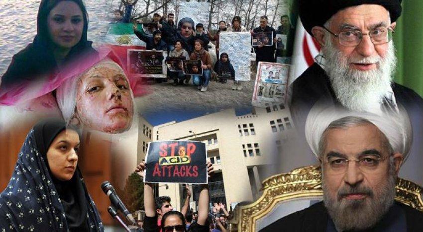 İran'da halk sokağa döküldü