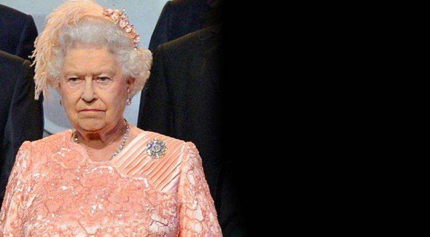 Kraliçe Elizabeth çıldırdı