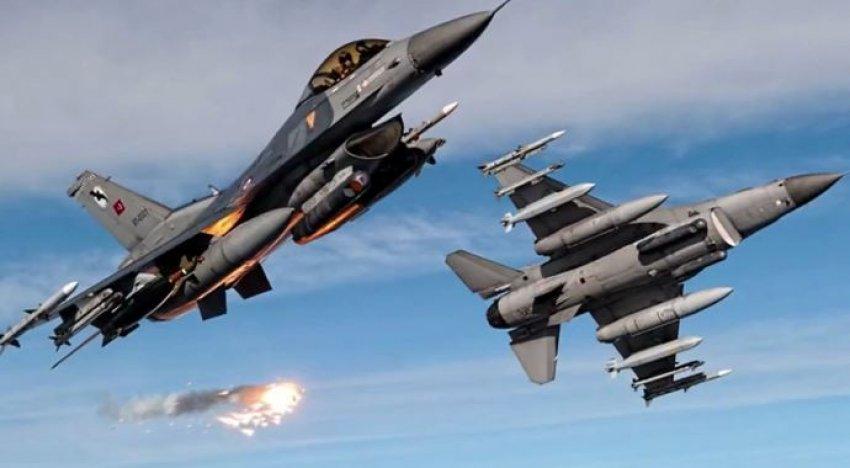 Sınıra yaklaşan Suriye helikopterini F-16 karşıladı!
