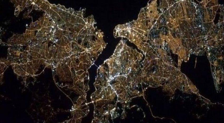 NASA astronotu İstanbul'un fotoğrafını çekti