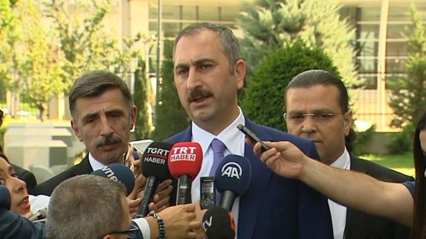Adalet Bakanı Gül'den 'Adil Öksüz' açıklaması