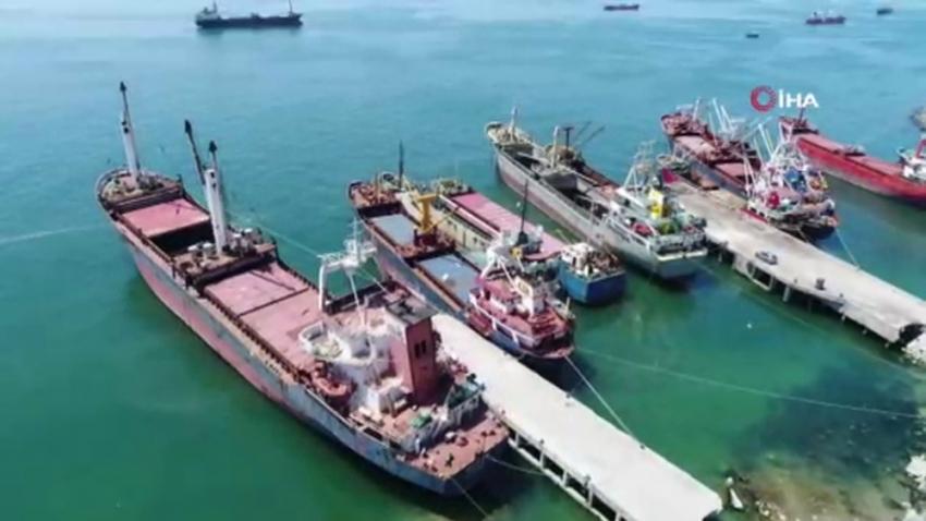 Marmara Denizi'ndeki hayalet gemilerin son durumu