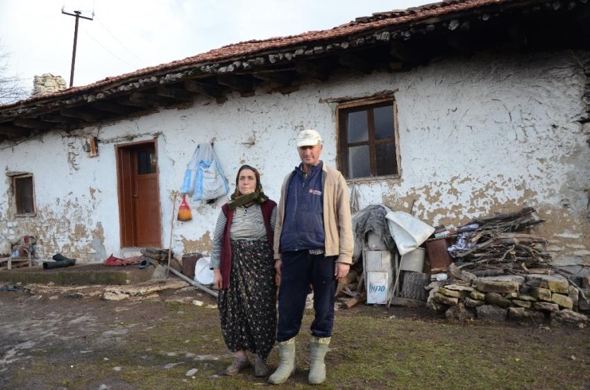 60 haneli köyde artık sadece ikisi yaşıyor