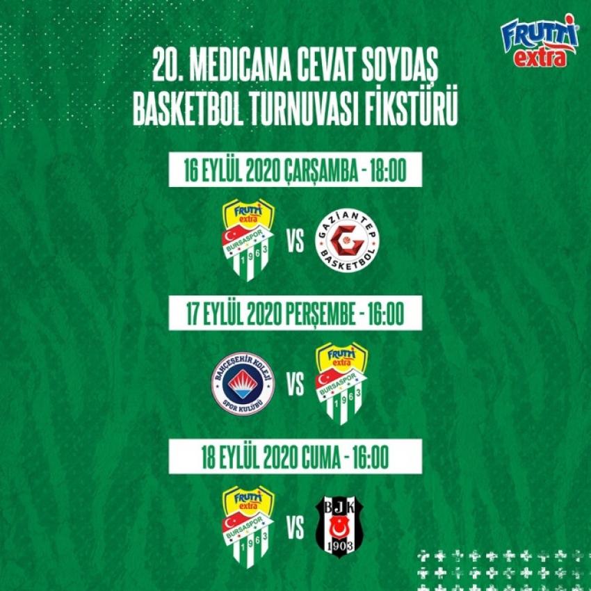 Cevat Soydaş Turnuvası bugün başlıyor.