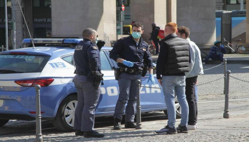 İtalya'da son 24 saatte 525 ölüm