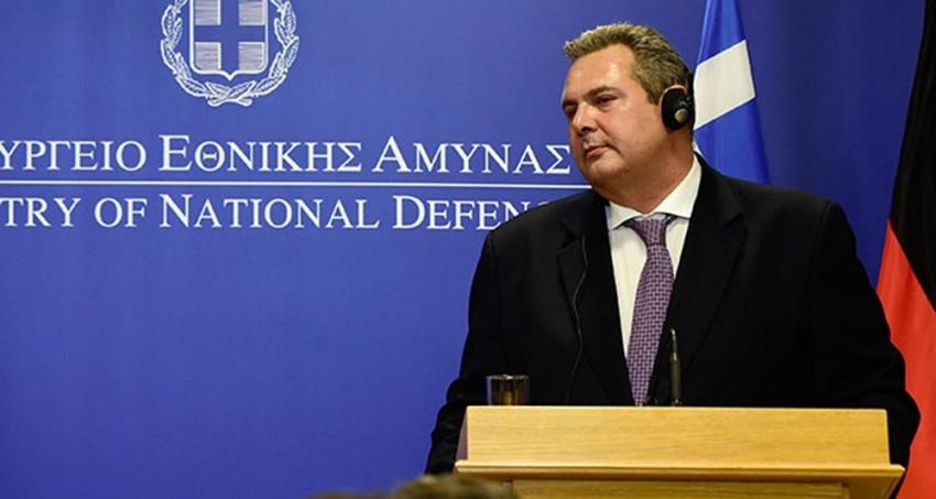 Yunanistan Savunma Bakanı Kammenos'tan bayrak açıklaması