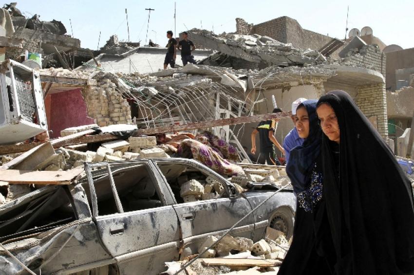 Arızadan bombalama: 12 ölü