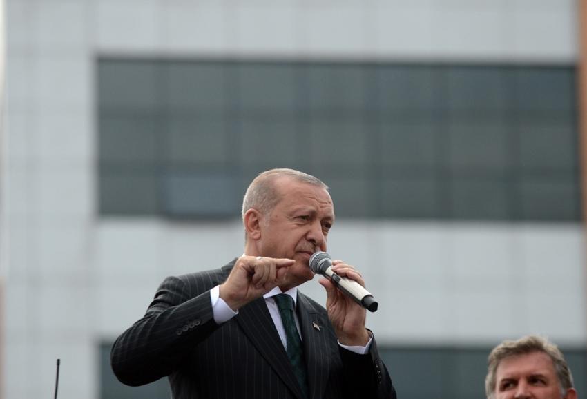 """Erdoğan: """"Bu adayın sicili Sayıştay raporları ile tespitli şekilde bozuktur"""""""