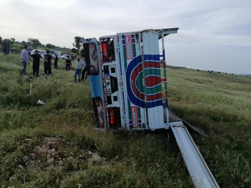 Midyat'ta trafik kazası: 1 ölü, 6 yaralı