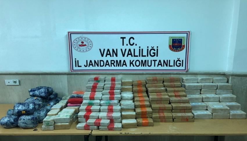 Van'da 161 kilo uyuşturucu ele geçirildi