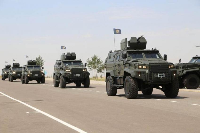 Türk zırhlısı Ejder Yalçın'lar, Özbek Silahlı Kuvvetlerinde hizmete girdi