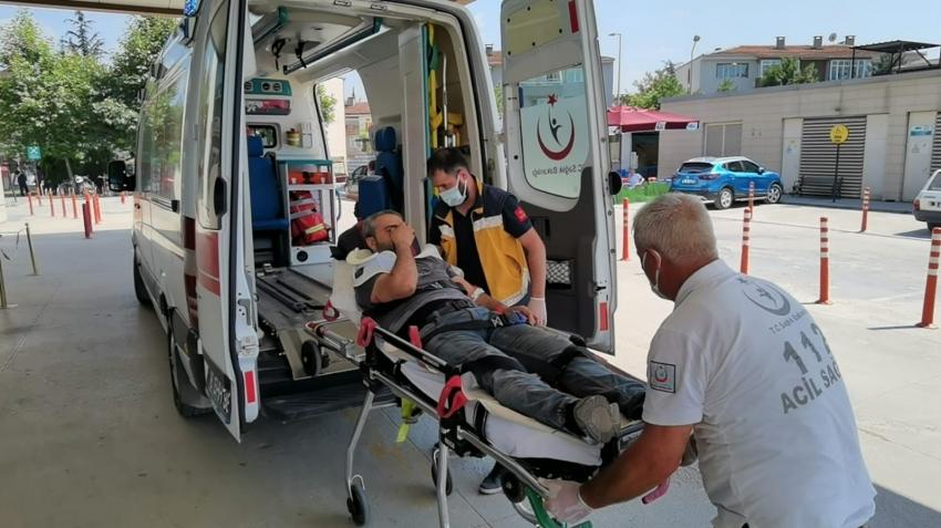 Bursa'da görünmez kaza