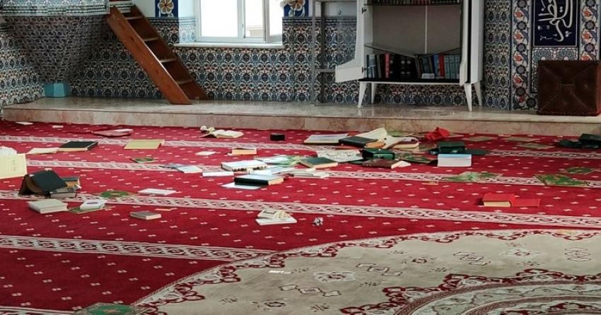 Bursa'da camiye çirkin saldırı