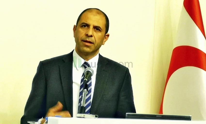 KKTC Dışişleri Bakanı'ndan doğalgaz açıklaması