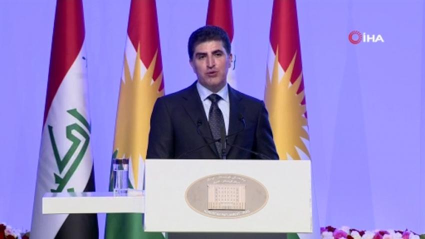 IKBY yeni Başkanı Neçirvan Barzani göreve başladı