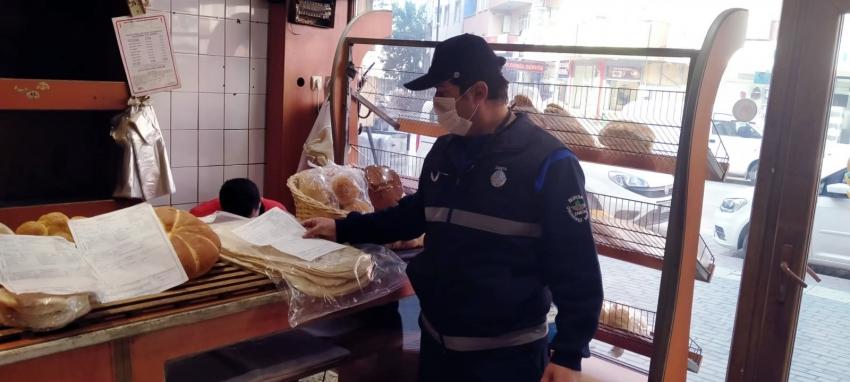 Osmangazi'deki fırınlara denetim