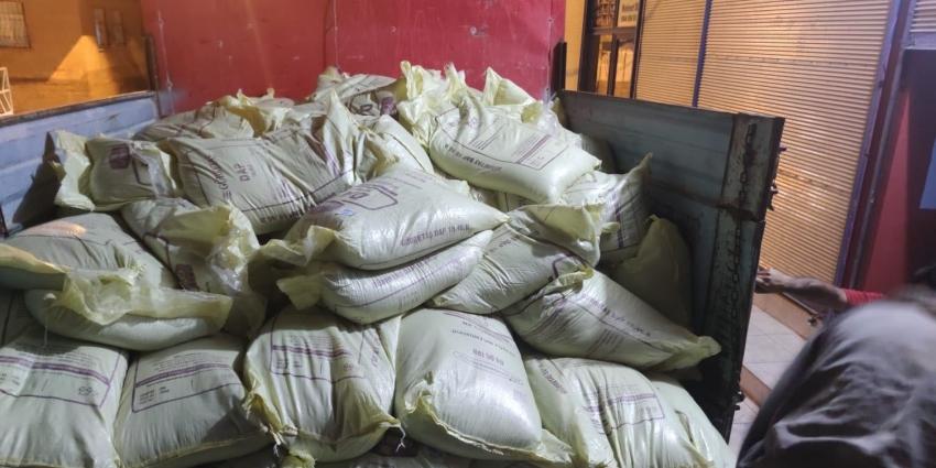 22 ton sahte gübre ele geçirildi