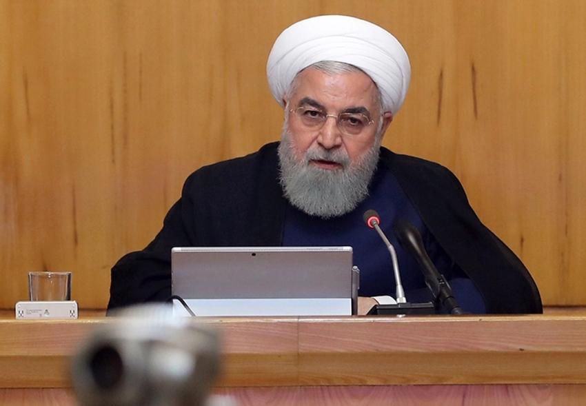 """Ruhani: """"İran hiçbir zaman ABD'yle savaş istemedi"""""""