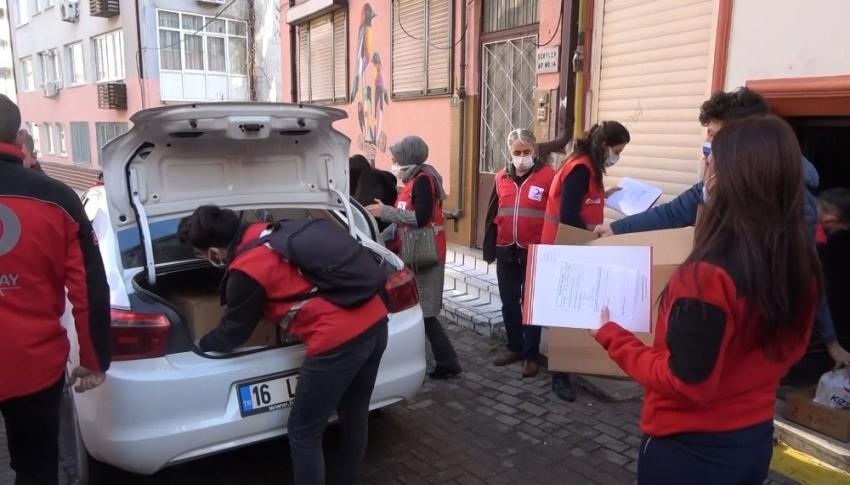 Kızılay Bursa çalışmalarına hız kesmeden devam ediyor