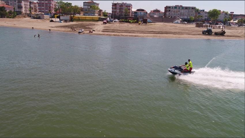 Karadeniz sahillerinde 17 günde 138 boğulma vakası önlendi