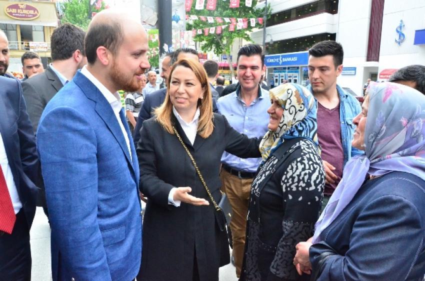 Bilal Erdoğan'a yoğun ilgi