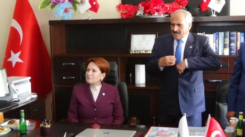 İYİ Parti Genel Başkanı Akşener Muş'ta