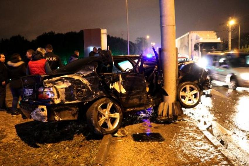 Bursa'da feci kaza: 4 yaralı
