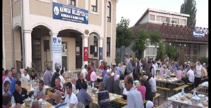Mamuşa'da bin kişilik toplu iftar
