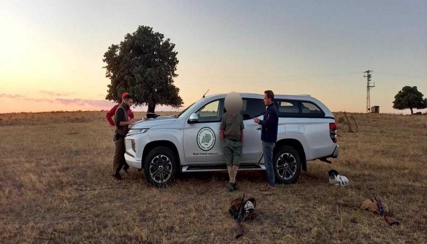 Yasa dışı avcılığa geçit yok: 2 kişiye işlem yapıldı