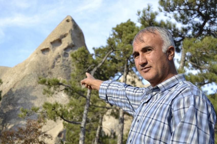 Bu da Eskişehir'in peribacaları keşfedilmeyi bekliyor
