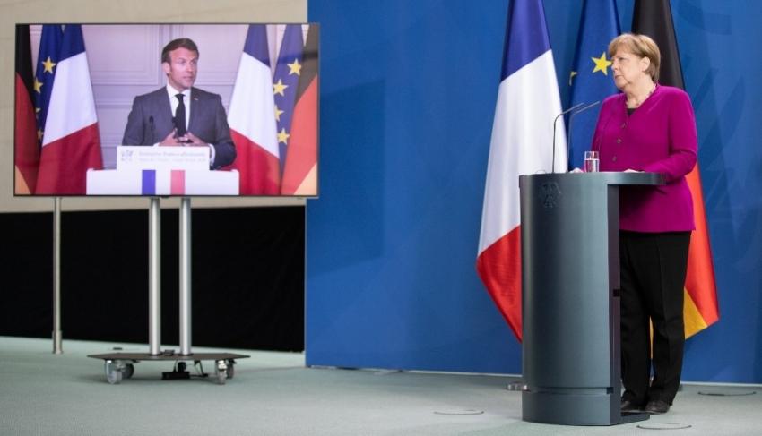 Macron ve Merkel'den ekonomi planı