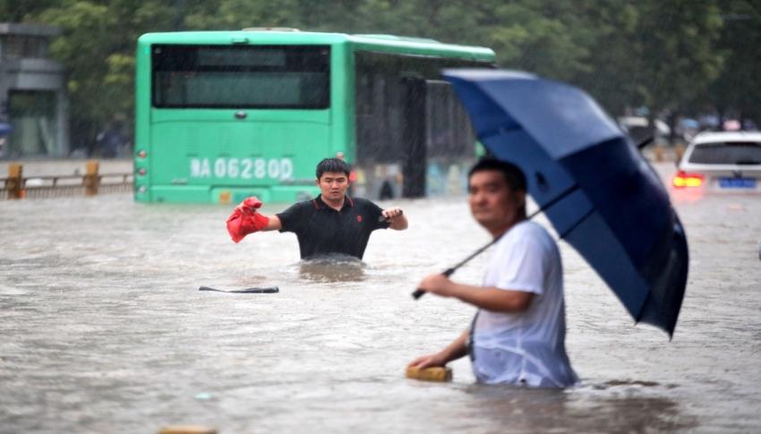 Çin'deki sel felaketinde can kaybı 58'e ulaştı, 5 kişi kayıp