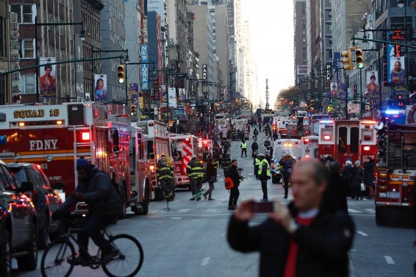 New York saldırısı terörle bağlantılı