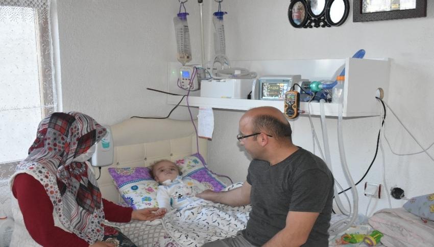 Milyonda bir görülen 'Pompe' hastalığına yakalandı