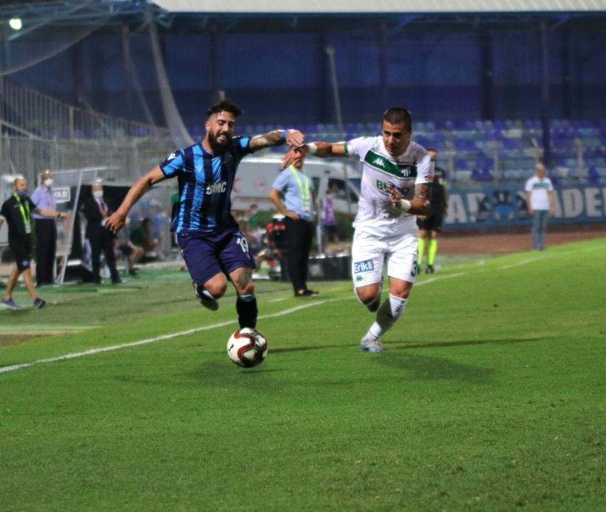 İlk yarı sonucu: Adana Demirspor: 0 - Bursaspor: 0