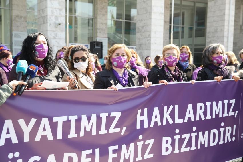 Nilüferli kadınlardan İstanbul Sözleşmesi çağrısı