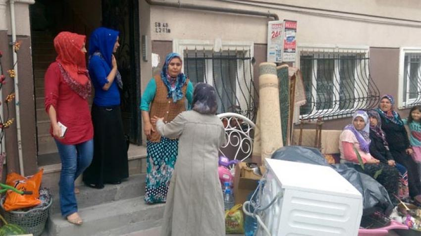 Ramazan günü sokakta kaldılar