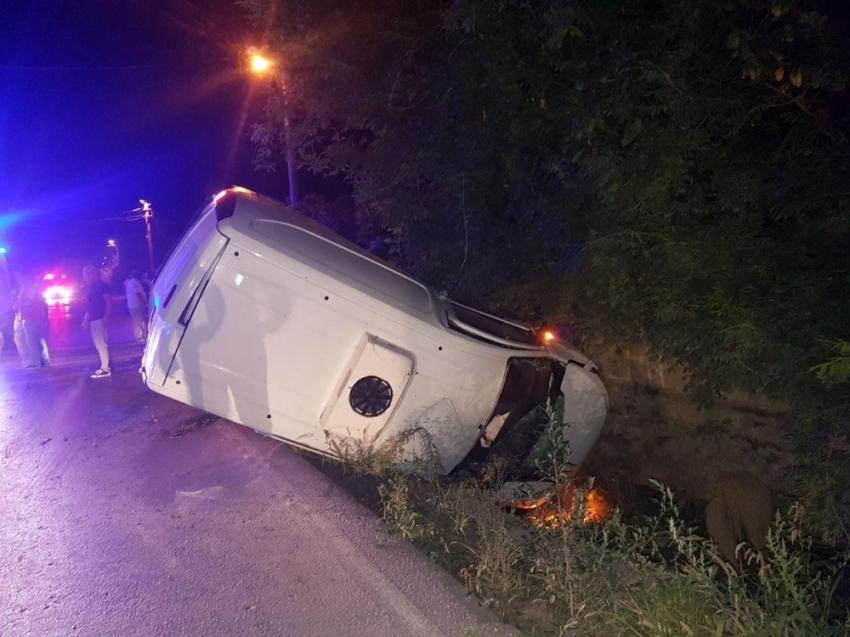 Otomobil panelvanla çarpıştı: 4 yaralı