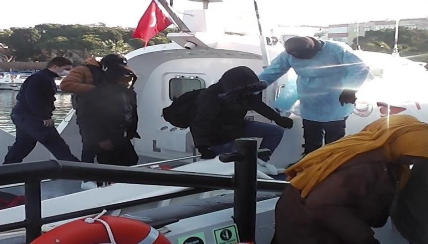 32 göçmen kurtarıldı